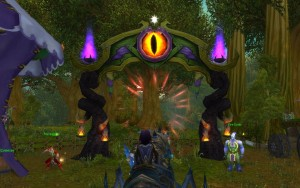 darkmoon faire guide portal entrance